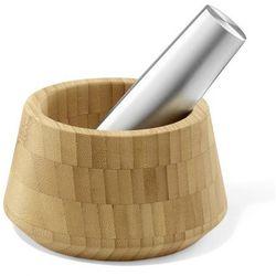 - moździerz bambusowy z tłuczkiem marki Zack