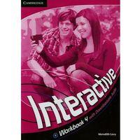 Interactive 4 Workbook (zeszyt ćwiczeń) with Downloadable Audio (2012)