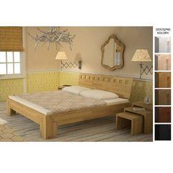 łóżko drewniane maroko 120 x 200 marki Frankhauer