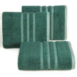Eurofirany Ręcznik alan 50x90 ciemny zielony