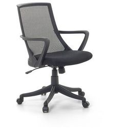 Krzesło biurowe czarne - fotel biurowy obrotowy - meble biurowe - ERGO (7081455402130)