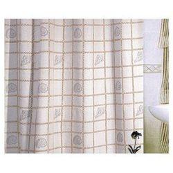 Zasłonka łazienkowa txt 180x200 emaux bezowa marki Bisk