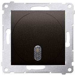 Dzwonek elektroniczny 8–12 V~ Brąz mat - DDT1.01/46 Simon 54 Premium