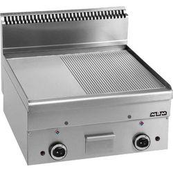 Płyta grillowa stołowa,1/2 gładka+ 1/2 ryftlowana - gazowa MBM600 - produkt z kategorii- grille