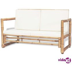 Vidaxl ławka ogrodowa, bambus, 115x65x72 cm