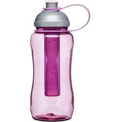 Sagaform - to go - butelka z wkładem chłodzącym, różowa - różowy