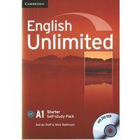 English Unlimited Starter Workbook (zeszt ćwiczeń) with DVD-ROM, oprawa miękka