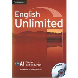 English Unlimited Starter Workbook (zeszt ćwiczeń) with DVD-ROM, książka w oprawie miękkej