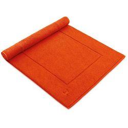 Dywanik łazienkowy  superwuschel red orange, marki Moeve