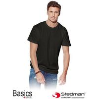 Czarny t-shirt męski STEDMAN ST2000_BLO