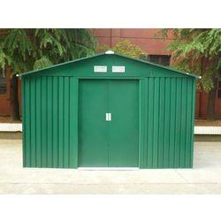 Altana ogrodowa z zielonej galwanizowanej stali maxita ii - 9,3 m2 marki Vente-unique