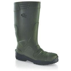 Shoes for crews Buty unisex | wellington boots - sentinel s4 | zielone | rozmiary 37-46