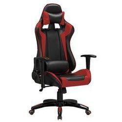fotel obrotowy czarno-czerwony Defender, HALM/FOT-GAB_DEFENDER_A419C1