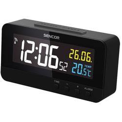 SENCOR cyfrowy zegar SDC 4800 B z budzikiem (8590669251728)