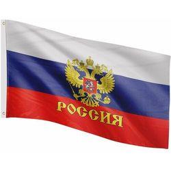 Flagmaster ® Flaga rosji rosyjska 120x80 cm na maszt rosja