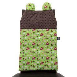 Cuddly Zoo, Farma, Cudly back, Chocolate, oparcie na krzesło