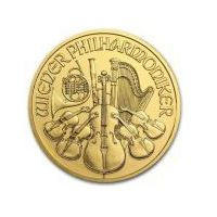 1/10 uncji Złoty Wiedeński Filharmonik - Złota Moneta - Rocznik 2012