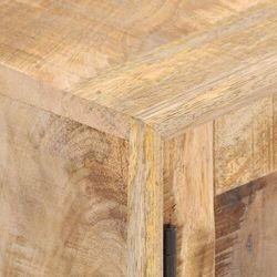 szafka pod tv, 140x30x45 cm, lite drewno mango marki Vidaxl
