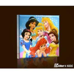 Lampka LED 45x45 Princess 02 z kategorii Oświetlenie dla dzieci