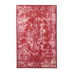 Dywaniki łazienkowe z nadrukiem w stylu vintage bonprix czerwony