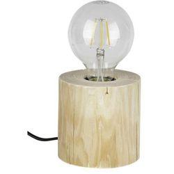 Spot-light Lampka stołowa trabo z drewna e27