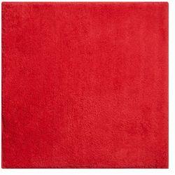 Grund dywanik łazienkowy manhattan, ruby czerwony, 55x55cm (8590507351047)