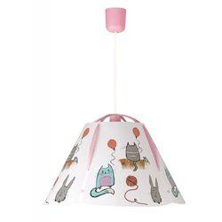 Lampa wisząca dziecięca zwis Rabalux Cathy 1x60W E27 wielokolorowa 4567 (5998250345673)