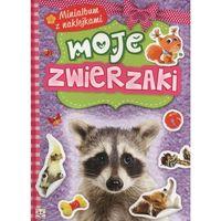 Minialbum z naklejkami - Moje zwierzaki + zakładka do książki GRATIS (16 str.)
