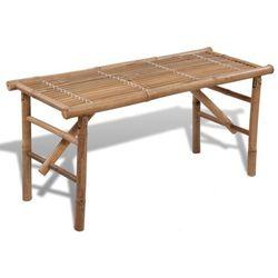 składana, bambusowa ławka wyprodukowany przez Vidaxl