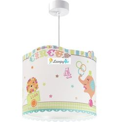 Dalber 62622 - lampa wisząca dziecięca circus 1xe27/60w/230v (8420406626222)