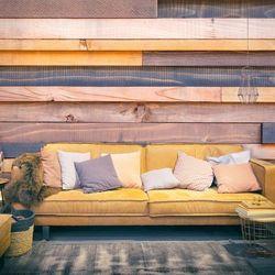 Fototapeta - drewniany zamek marki Artgeist