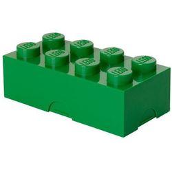 POJEMNIK LEGO 8 CIEMNOZIELONY - LEGO POJEMNIKI