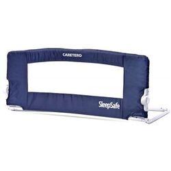 Caretero Barierka na łóżko SleepSafe NOWOŚĆ Navy Kurier gratis z kategorii Zabezpieczenia do łóżeczek