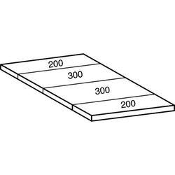 Scholz Przemysłowo-magazynowy regał wtykowy, wys. 2280 mm, 6 półek,szer. półki 1200 mm