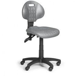 B2b partner Krzesło pur, asynchroniczna mechanika, do twardych podłóg