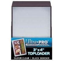 Ultra pro toploader border 25 szt. przezroczyste od producenta Brak danych