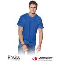 Stedman Niebieski t-shirt męski  st2000_brr