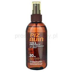 Piz buin  tan & protect olejek ochronny przyspieszający opalanie spf 30 + do każdego zamówienia upo