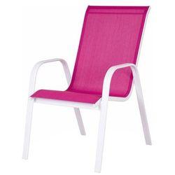 Fotel z podłokietnikami Blooma Janeiro 56 5 x 76 x 94 5 cm różowy