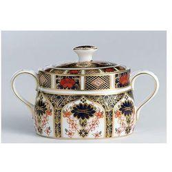 Royal Crown Derby Old Imari Cukiernica z przykrywką, 642-0161
