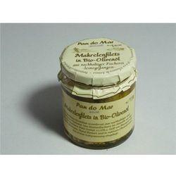 Makrela w bio oliwie z oliwek 220 g - pan do mar od producenta Pan do mar (rybołóstwo zrównoważone)