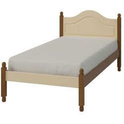 Steens Kremowe romantyczne łóżko 90 richmond