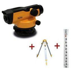 Niwelator optyczny  n24x + statyw + łata wyprodukowany przez Nivel system