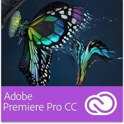 Adobe Premiere Pro CC EDU ENG Multi European Languages Win/Mac - Subskrypcja (12 m-ce) (oprogramowanie)