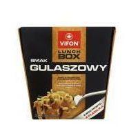 Lunch Box smak gulaszowy Danie błyskawiczne z kluskami pikantne 80 g Vifon