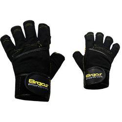 Rękawice kulturystyczne  dd-107 bestrong męskie żółty (rozmiar m) wyprodukowany przez 8reps