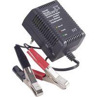 Ładowarka akumulatorów kwasowo-ołowiowych IVT 111-06252-002, 6 V, 12 V, Steckerlader 6/12V
