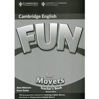 Fun for Movers (2nd Edition) Teacher's Book (książka nauczyciela), Anne Robinson, Karen Saxby