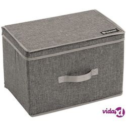 składane pudełko palmar l, szare, poliester, 470356 marki Outwell