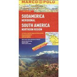 Ameryka Południowa - północ 1:4 mln - mapa Marco Polo (Marco Polo)